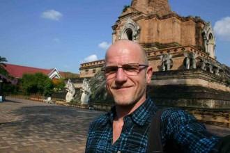 Reisejournalist und Blogger Robert Niedermeier in Chiang Mai