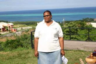 Die Biologie-Lehrrein Marcia erklärt auch Touristen ihre grüne Karibik-Insel