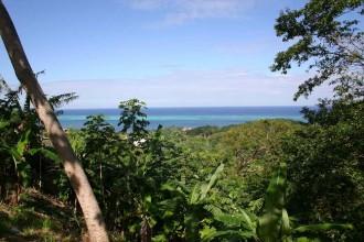 Blick aufs Riff an der Westküste von Roatán