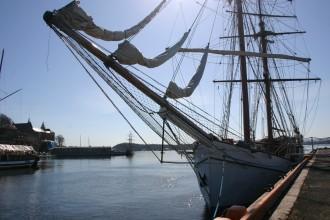 Hafen in Norwegens Hauptstadt Oslo