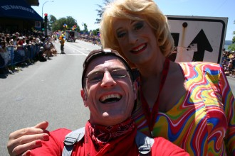 ReiseRobby & Lilo Wanders in Vancouver beim Vancouver Pride