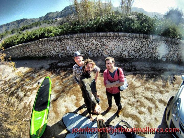Mallorca-Surf-Shoot: Joan, Robby,Dennis