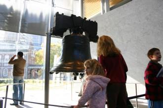 Liberty Bell Phildelphia, Americas Liberty Bell Hall, Besucherhalle mit der Freiheitsglocke