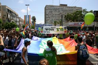 LGBT-Symbol Regenbogenfahne: Israel feiert die größte CSD-Parade in Tel Aviv