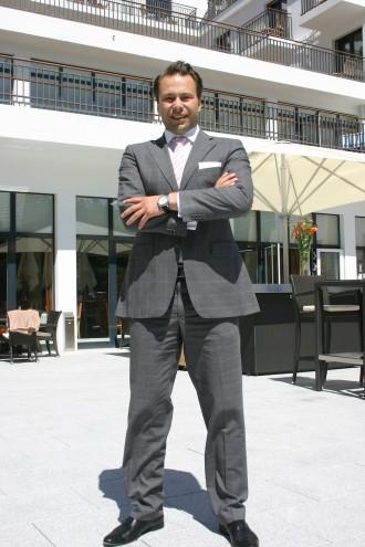 Hoteldirektor Thomas Peruzzo