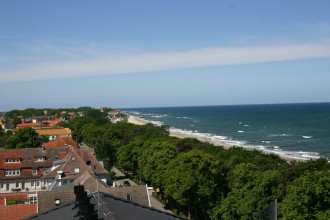 Blick vom Turm im Upstalsboom Hotelresidenz & Spa Kühlungsborn auf Ostsee