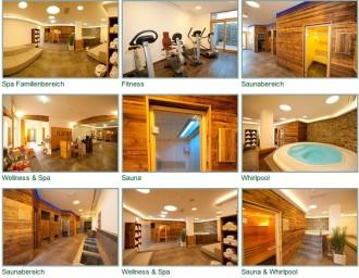 Bilder-Collage aus der Fotogalerie vom Hotel Großarler Hof