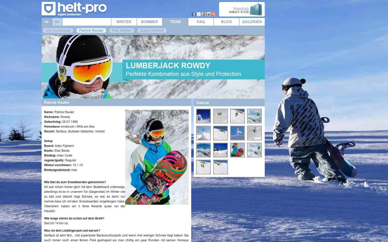 Herstellerfirma Helt-Pro so klasse Designs