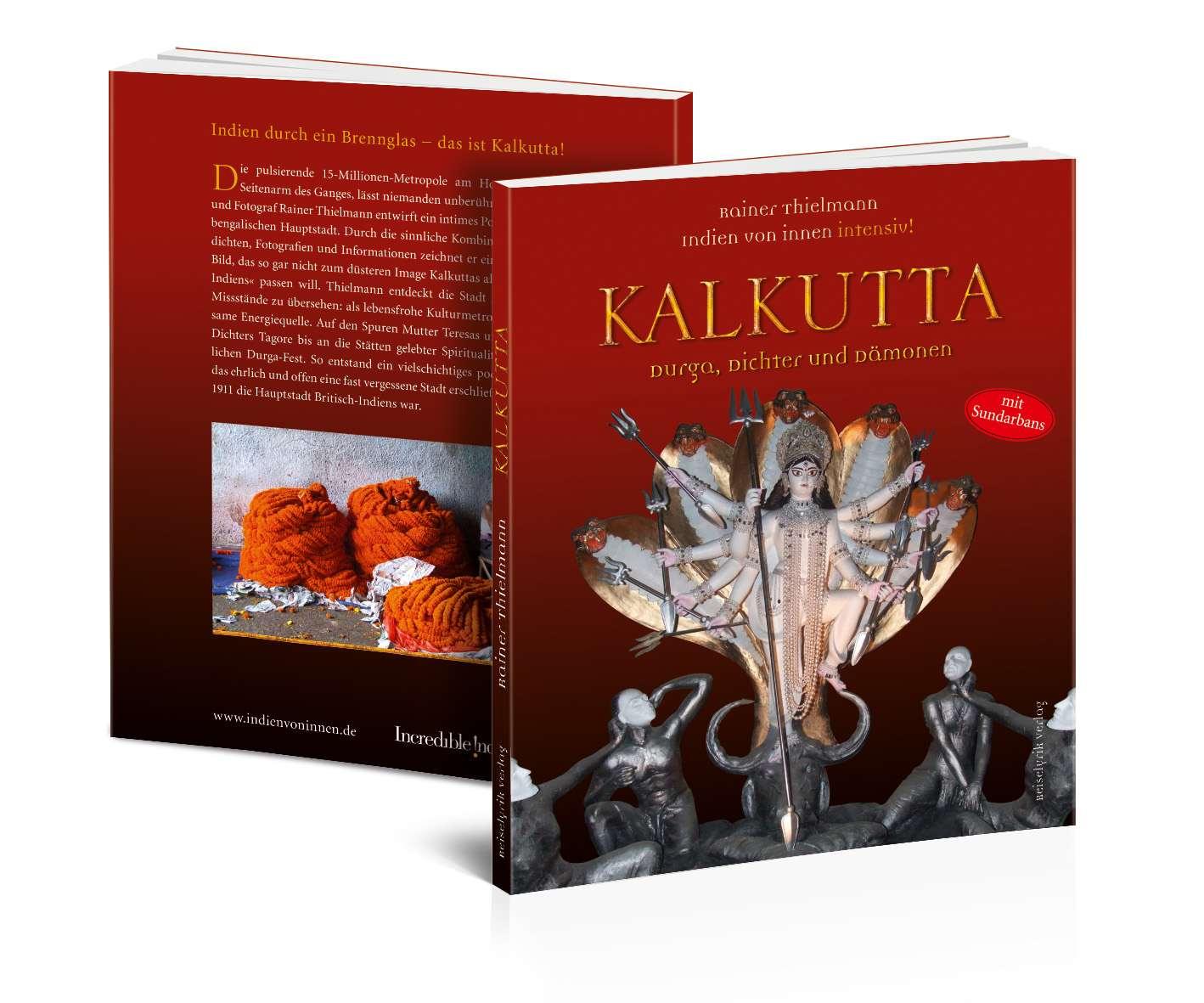 """Multimedia-Lesung im Palais: """"Kalkutta _ Durga, Dichter und Dämonen"""" von Rainer Thilemann"""