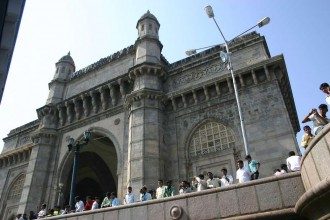 Gate of India, am Arabischen Meer in Bombay/ Mumbai