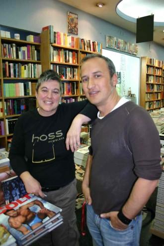"""Madrid im Buchladen """"Berkana"""": Als Pionier der Szene gilt die lesbische Buchhändlerin Mili Hernandez"""