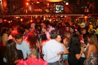 Tanzfläche im Inferno-Club in Bogotá