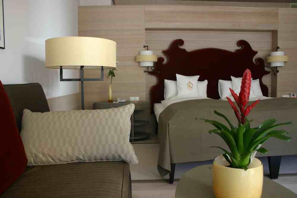 Junior Suite im Ifen Hotel der Travel Charme-Gruppe in Hirschegg im Kleinwalsertal in Österreich in Vorarlberg