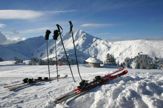 2000 Meter hohen Skiberges Pengelstein