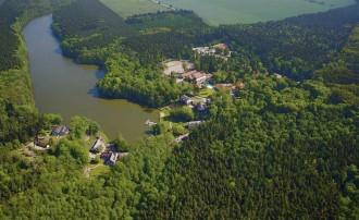 Luftaufnahme von Alt Madlitz, Gut Klostermühle