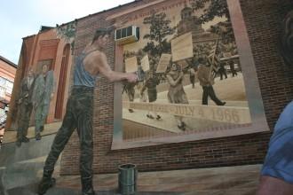 Pennsylvania/ Philadelphia: Gay Murrel in der Spruce Street