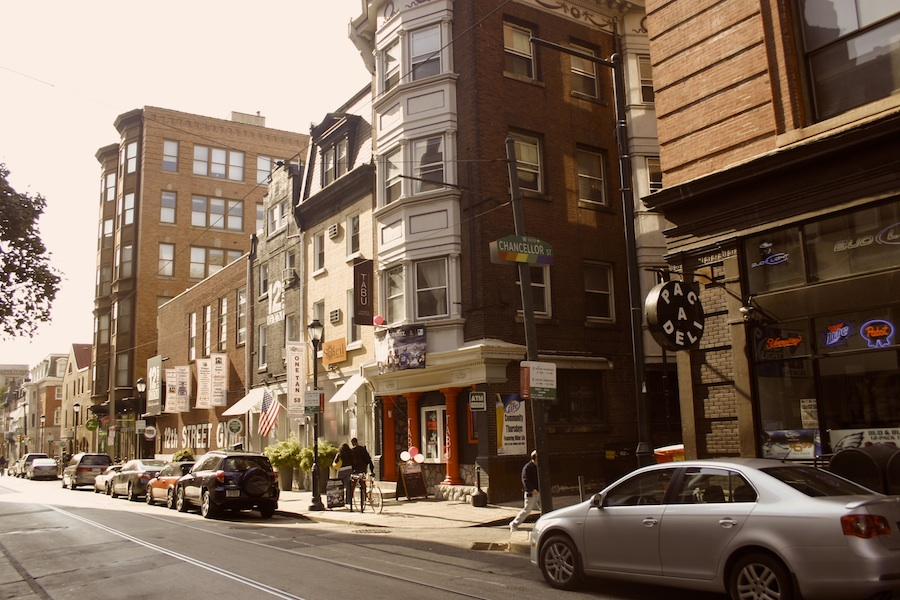 Chanellor 13th Street: Gay Neighborhood in Philly