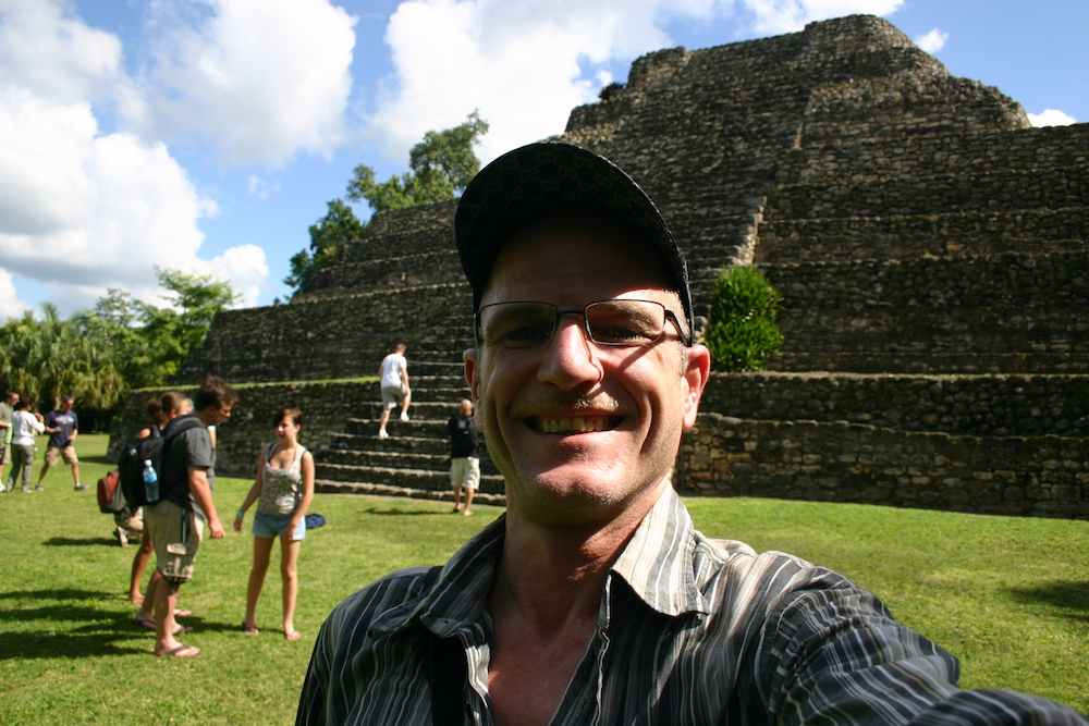 Robert Niedermeier alias Reiserobby in Mexiko, Costa Maya