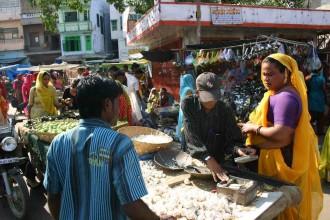Marktszene in Udaipur... Menschen in Not habe ich während meiner Indien-Reise kaum fotografiert