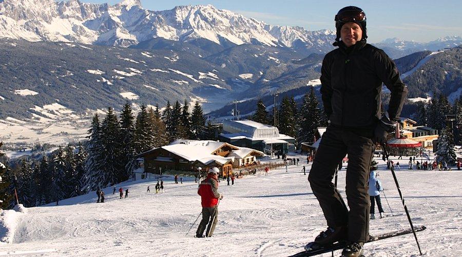 Roman Forisch über Flachau: Im Skigebiet von Flachau