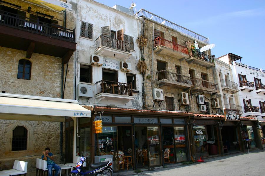 Das ehemalige Café der legendären Lotti Huber: To Limona in Girne
