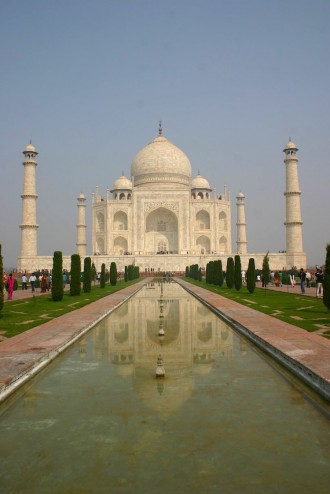 Das Taj Mahal in Agra (Uttar Pradesh), Foto: Robert Niedermeier