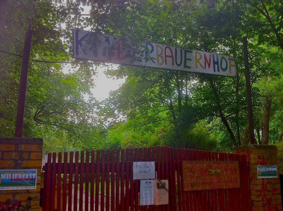 Friedliche Koexistenz bestimmt bereits die freundliche Atmosphäre im im Görlitzer Park