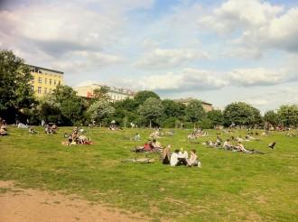 Suspekte Menschen, weil sie ohne Kinder ihre Freizeit verbringen im Görlitzer Park?