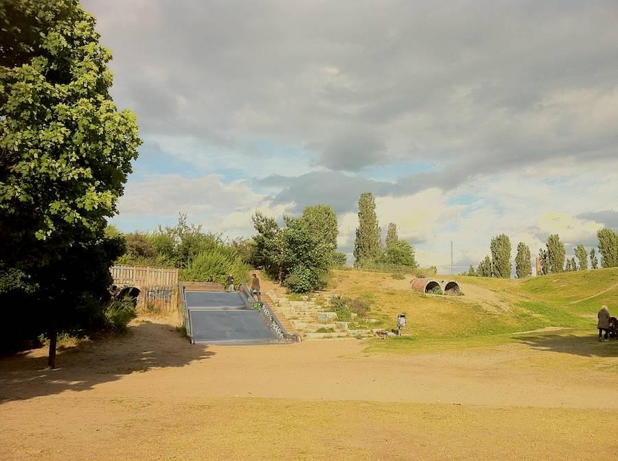 Keine Drogendealer oder Partyleute belästigen spielende Kinder im Görlitzer Park