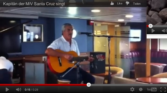 Santa Cruz-Capitan Cantante-Video-Link