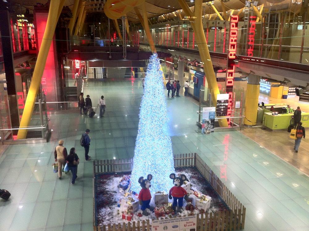 Madrid Airport, Foto. Robert Niedermeier