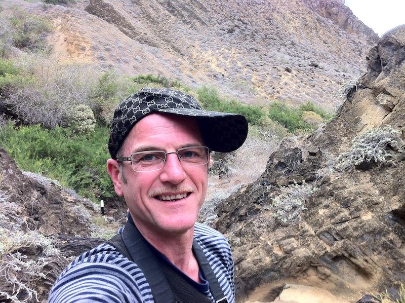 Robert Niedermeier auf Sant Christobal /Galapagos/ Ecuador)
