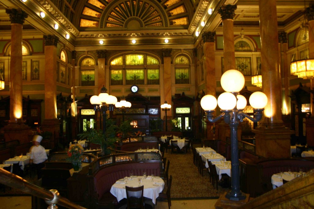 Restaurant Concourse in Station Square Hall in Pittsburgh,