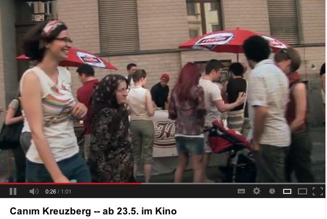 Filmszene aus Canim, Kreuzberg (Trailer-Auschnitt aus Youtube)