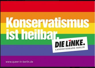 Aktion der Linke in Berlin.
