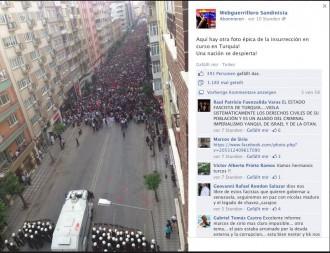 Unterstützung weltweit für den Aufstand gegen Erdogans Autokratie