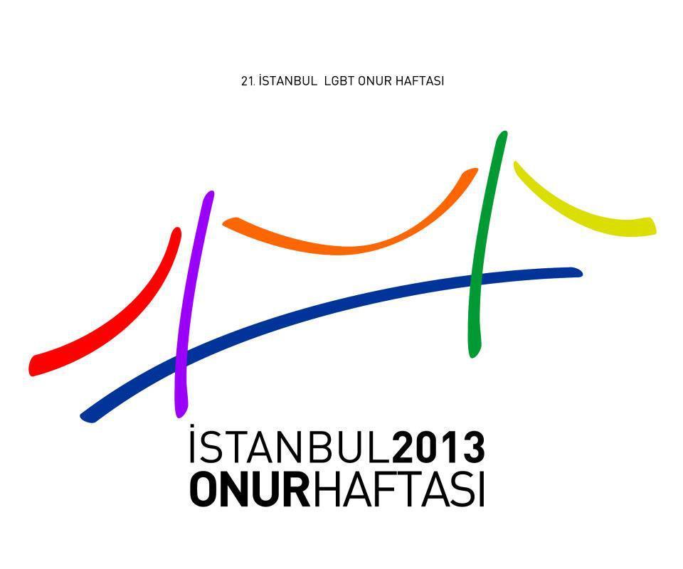 Istanbul LGBT Pride Week-Logo: Onur Haftasi: Das Motto lautet Resistance