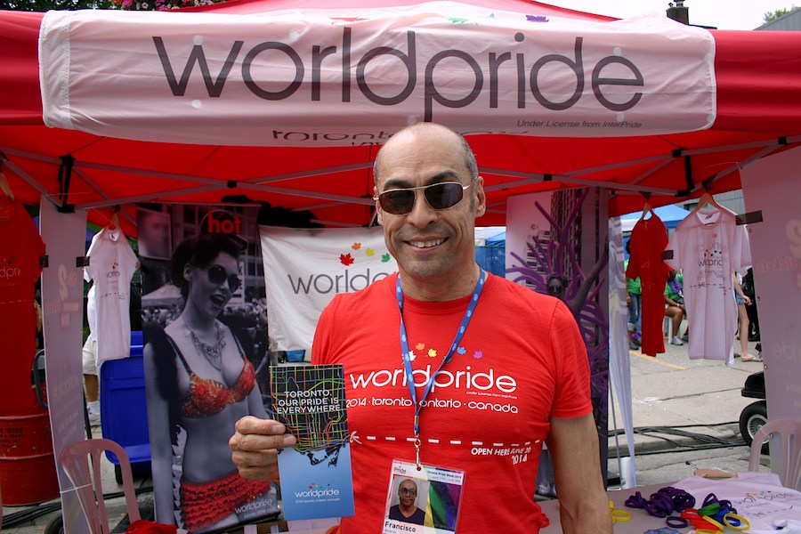Francisco Alvarez erklärt den World Pride 2014
