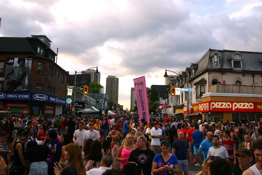 Pride_Straßenfest in Toronto, Foto: Robert Niedermeier