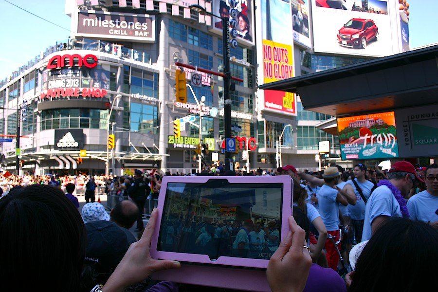 Toronto Pride am Dundas Square