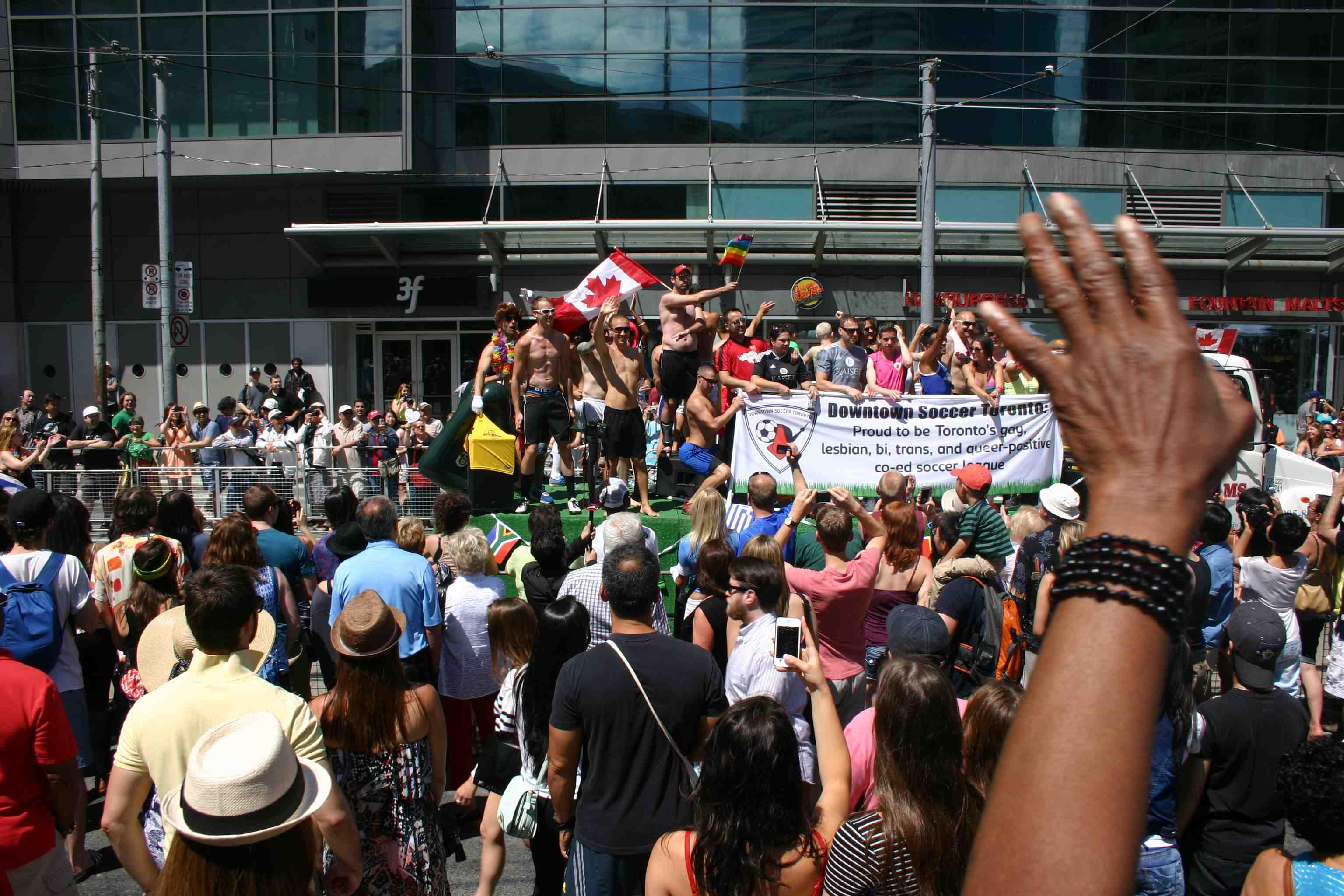 Pride Toronto Dundas Square 2013