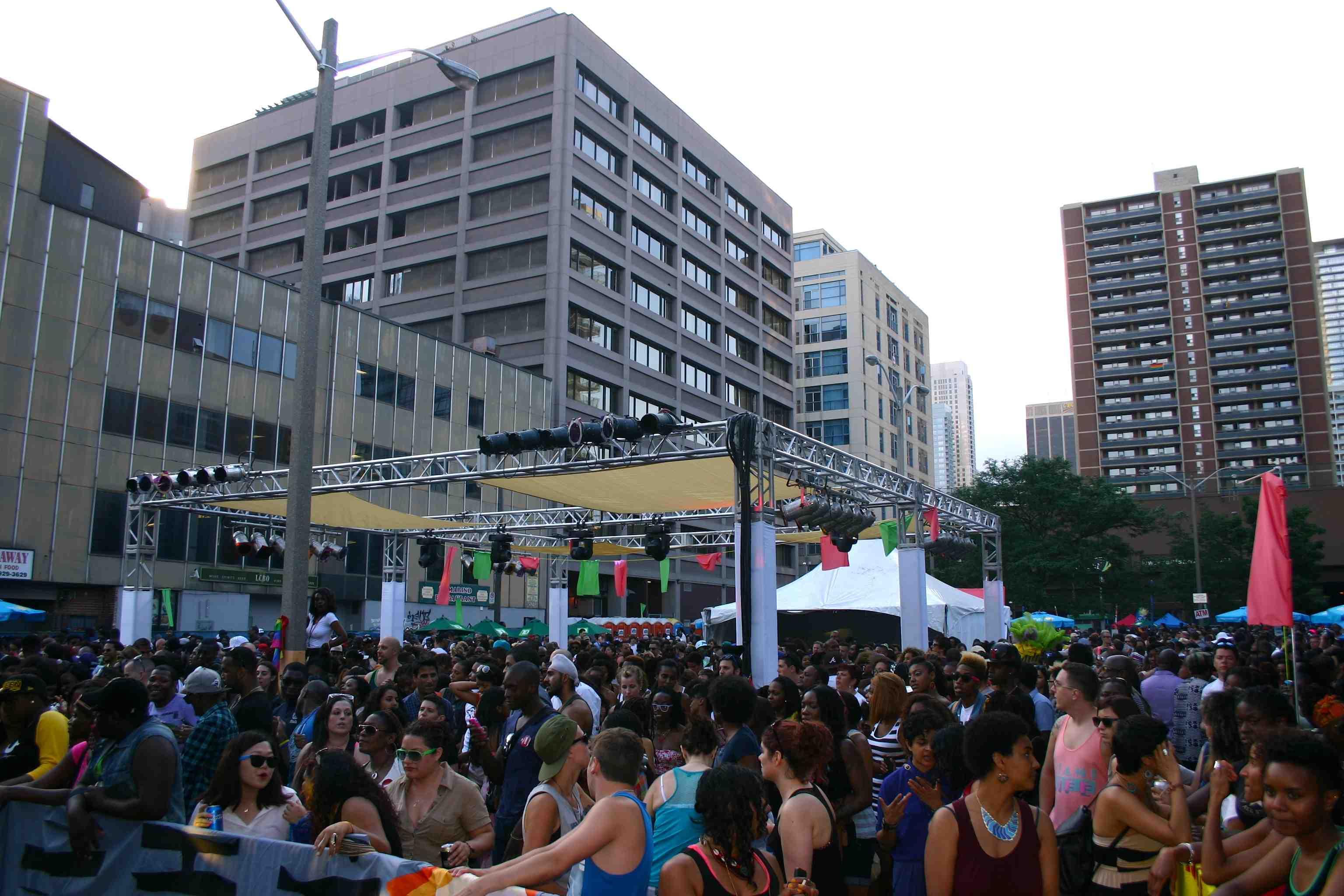 Publikum Pride Toronto Stage Publikum