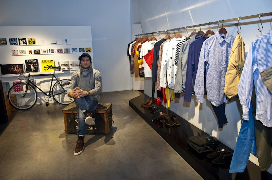 Addict: Tony Jimenez in seinem Fashion-Store