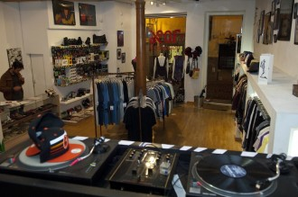 Hipper Durchblick im Store Piel de Gallina