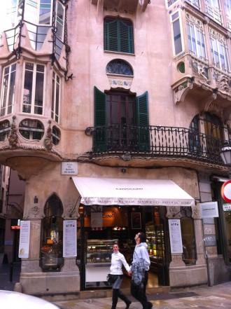 Plaza Marques del Palmer: Kaffeepause in der Innenstadt von Palma de Mallorca