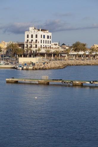 Wurde zum Wahrzeichen des Trendviertels von Palma de Mallorca: Hotel Portixol, Foto: Stephan Fengler