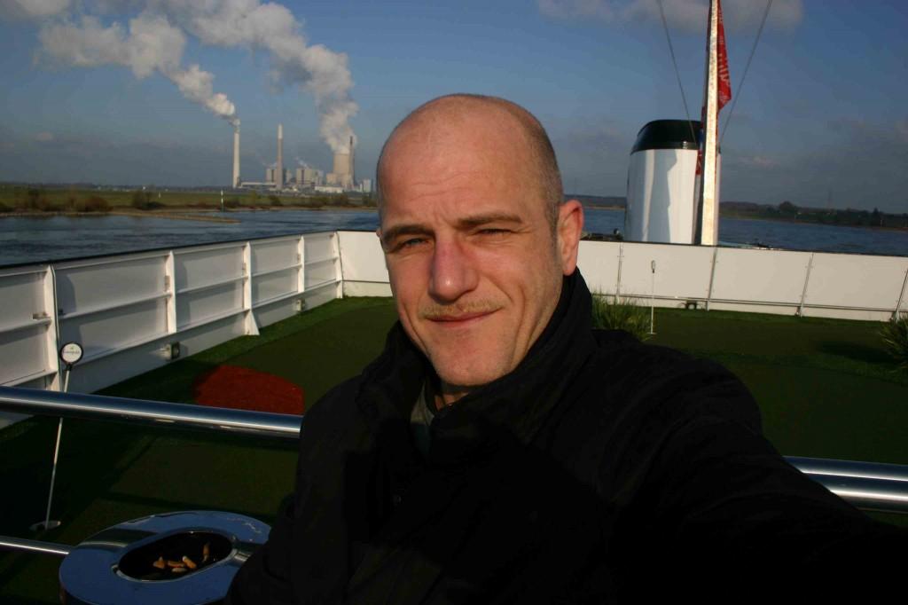Robert Niedermeier aka Reiserobby am Deck der MPS Statendam