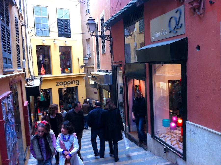 Calle Quint in Palmas modischen Hotspot