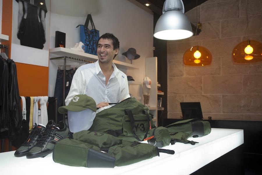 Y-3-Store in Palma de Mallorca: Zweitlinie von Yohji Yamamoto
