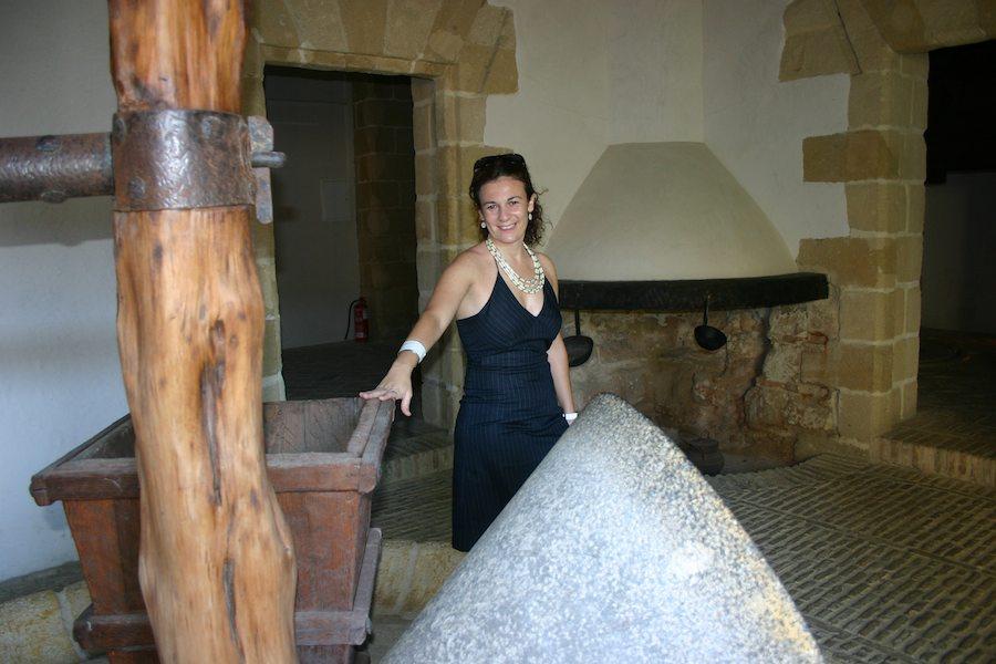 Maria erzählt über die wechselhafte Geschichte von Jerez in Andalusien, Provinz Cadiz